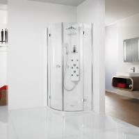 Die Premium Softcube  besticht durch ihr frisches und softes Design in Griffen und Scharnieren.